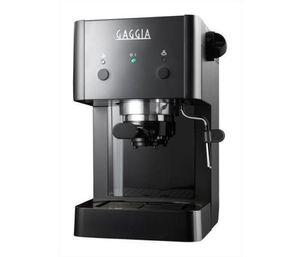 Gaggia Grangaggia Style Traditionelle Espressomaschine, Kunststoffgehäuse, Milchaufschäumer