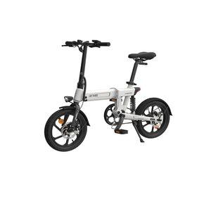 HIMO Z16 E-Bike Klapprad Elektrofahrrad Fahrrad 250W 36V 10AH Lithium Akku 25km/h Citybike, Weiß