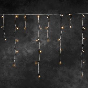 Weihnachtsbeleuchtung LED Lichtervorhang Konstsmide Eisregen außen