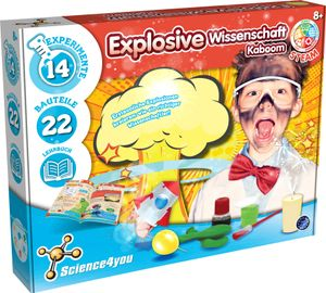 Science4you - Explosionsfabrik - Explosive Wissenschaft Kaboom - Experimentierkästen für Kinder - STEM - 616073