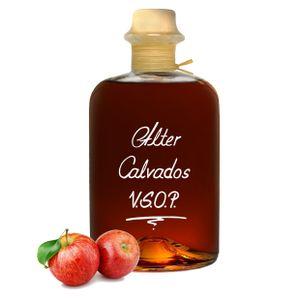 Alter Calvados V.S.O.P. 1L Aromatisch & sehr weich 40% Vol. Apfel Brand Normandie