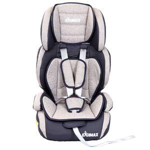Kidimax Autokindersitz Autositz Kinderautositz 9-36 kg 1+2+3 ECE, Grau