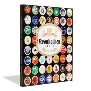 Leuchtturm PRESSO Sammelalbum für 64 Kronkorken Box Buch Ordner Bierdeckel