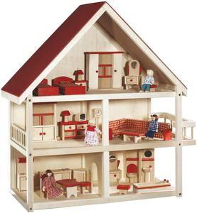 roba Kinder Holz Puppenhaus Puppenstube möbliert