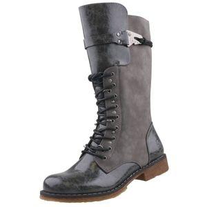 Rieker Damen Stiefel Grau, Schuhgröße:EUR 42