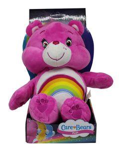 Care Bears Cheer Bär Plüschfigur Soft pink 27cm