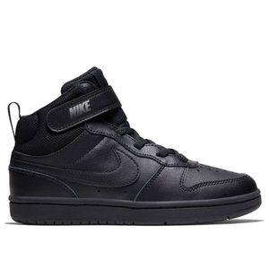 Nike Court Borough Mid 2 Psv Black / Black / Black EU 34