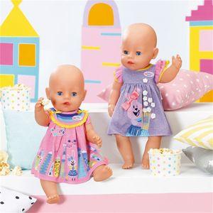 ZAPF 828243 BABY born® Kleider 43 cm - sortiert