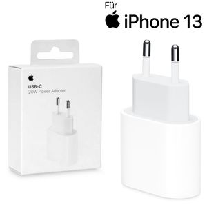 Original Apple iPhone 13 Pro Ladegerät 20W Charger USB-C Netzteil