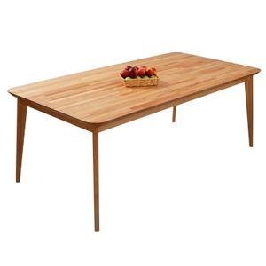 Krok Wood Esstisch Paris aus Massivholz in Buche  200x100x75 cm