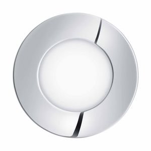 EGLO FUEVA 1 LED Einbauspot Ø85, 1-flg., chrom,LED Platine,A++,96242