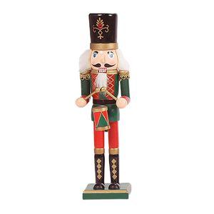 Hölzerne weihnachten nusskcracker figuren spielzeug handwerk für 30cm Traditionell Nussknacker Stil 1
