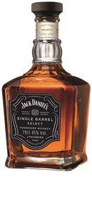 Jack Daniel's Single Barrel Select Tennessee Whiskey   45 % vol   0,7 l