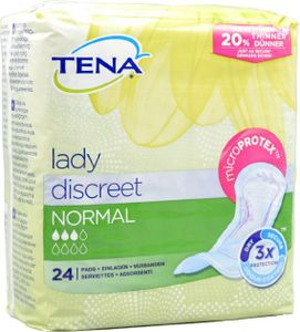 TENA Lady Discreet - Normal, 12x24 Stück