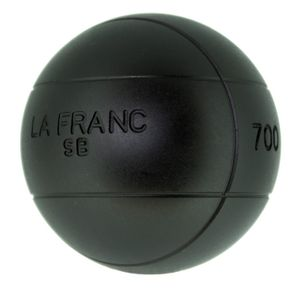 Boulekugeln La Franc SB (Soft Black) 73 680,1 ohne Holzkoffer