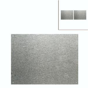 2x Zinkblech 59,5 x45 cm Auflage für Pflanztisch Zinkauflage Pflanztischauflage