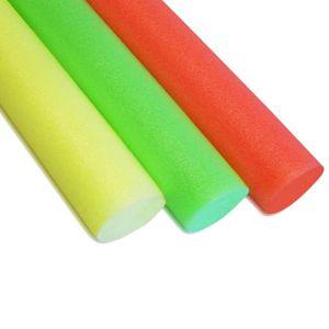 3x Schwimmrolle Neon Gelb Orange Grün Schwimmnudel Poolnudel Schwimmhilfe