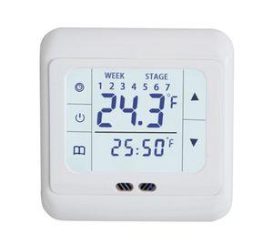 Thermostat Digital Raumthermostat Fußbodenheizung LED Touchscreen Unterputz