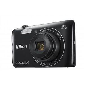 Nikon Coolpix A300 Kompaktkamera, Farbe:Silber