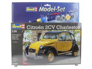Revell Model Set Citroen 2CV - Auto-Modellbausatz; 67095