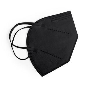 20 Stück Schwarze FFP2 Maske Atemschutzmaske Mundschutz Hygienemasken  EN149:2001