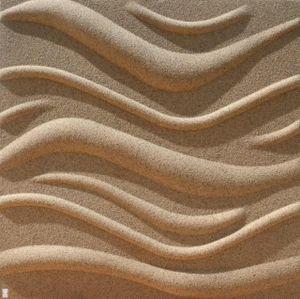 3D Wandpaneele Goldener Sand Sandwandpaneele Deckenpaneele Platten Paneele Wave Polystyrol