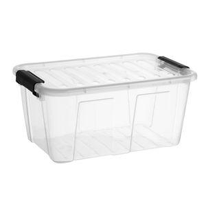 Containerbox mit Deckel Plast Team HOME BOX 7.7L Aufbewahriungsbox Ordnungsbox