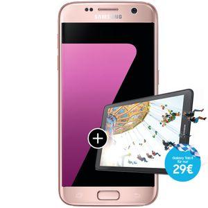 Telekom Samsung Galaxy S7, 12,9 cm (5.09 Zoll), 4 GB, 32 GB, 12 MP, Android 6.0, Rosa-Goldfarben