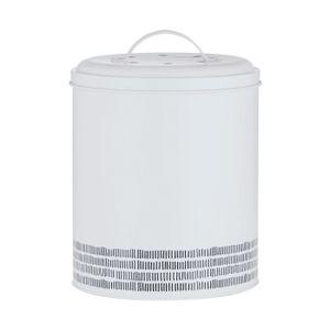 TYPHOON Kompostbehälter EDELSTAHL Küchenkomposter Komposter Eimer Küche Neu
