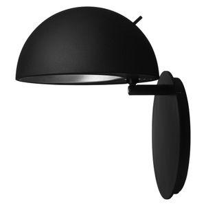 Fritz Hansen Wandleuchte Radon Schwarz Skandinavisches Design aus Dänemark
