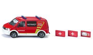 "Siku 2116 VW T6 ""Notarzt Feuerwehr"" Maßstab 1:50-Copy"