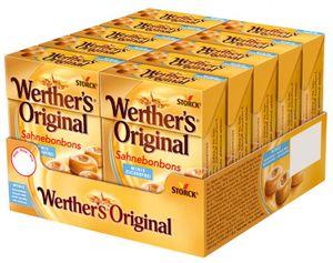 Werthers Orginal Minis, Bonbon ohne Zucker 10 Packungen