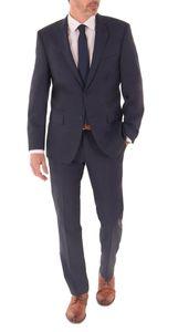 Daniel Hechter - Regular Fit - Herren Baukasten Anzug aus 100% feinster ital. Schurwolle in schwarz und blau (100101), Größe:106, Farbe:Blau (680)