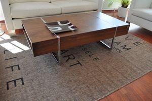 Design Couchtisch Tisch N-111 Nussbaum / Walnuss Carl Svensson