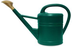 Gießkanne 5 L Retro Kunststoff Petrolgrün mit Brause Gartengießkanne