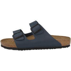 BIRKENSTOCK Arizona Sandalen Pantoletten Blau Schuhe, Größe:43
