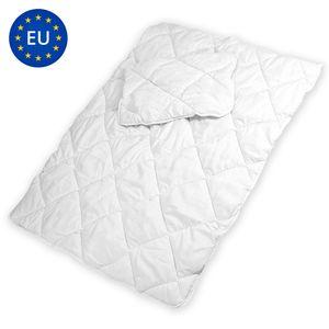 Kinderbettdecke Set 100 x 135 Bettdecke Decke steppdecke und Kissen 40x60 für Baby Kinder Allergiker (100x135 cm + 40x60 cm)
