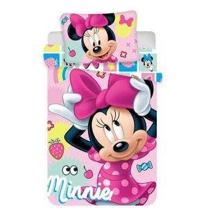 Disney Minnie Maus Kinder Bettwäsche Kopfkissen Bettdecke Micky 100x135 cm Candy