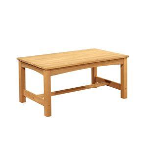 EDUPLAY 160190 Holztisch, Eukalyptusholz, 106 x 57 x 48 cm hoch, natur