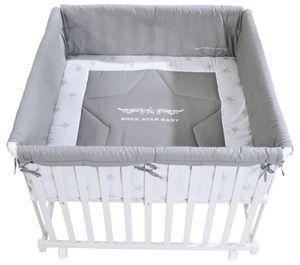 Roba Laufgitter 'Rockstar Baby 2'; 0246W RS2, 3-fach höhenverstellbar