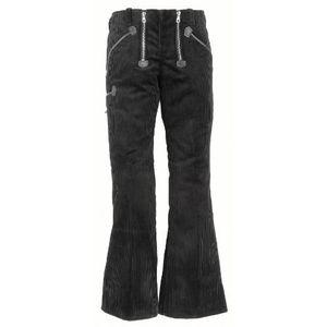 FHB LUISE Damen-Zunfthose Trenkercord schwarz Gr. 40