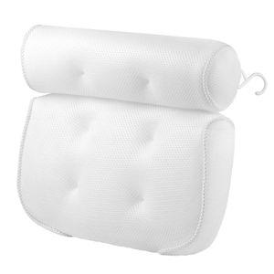 Badewannen-Kissen, Bad-/Wellness-Kissen, für Kopf-, Hals-, Rücken- und Schulterstützung, Badekissen Größe 36 x 33 x 10 cm