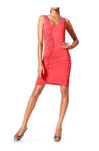 Class International Damen Bodyforming-Kleid, koralle, Größe:36