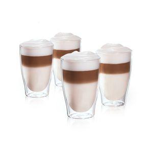 Tchibo Cafissimo 4er Set Latte-Macchiato-Gläser doppelwandig
