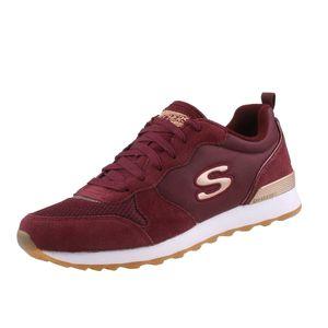 Skechers Damen Sneakers OG 85 Goldn Gurl Rot/Bordeaux, Schuhgröße:EUR 40