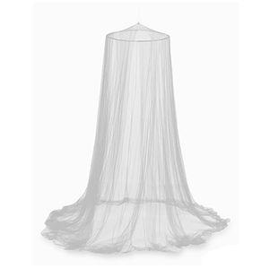 Moskitonetz Dome Netting Vorhänge Abweisend Zelt Insekten ablehnen Bett Vorhang Elegante Baldachin Moskitonetz【Weiß】