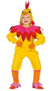 Hennen Kostüm für Kinder, Größe:122/128