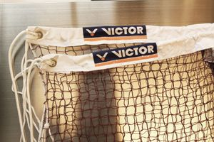 VICTOR Badminton Federball Tennis Volleyball Netz A Professional - BWF approved