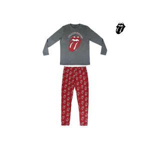 Schlafanzug The Rolling Stones Erwachsener Rot Grau L