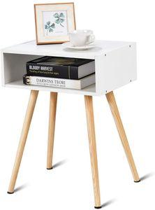 COSTWAY Nachttisch Nachtkommode Nachtschrank Nachtkonsole Beistelltisch Flurkommode Flurtisch Ablagetisch Telefontisch 40x30x54cm